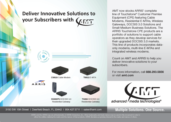 ARRIS Touchstone Customer Premises Equipment (CPE